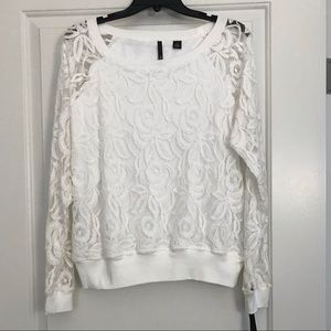 NWT Skye's The Limit Lace Top